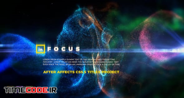 In Focus - Particle Titles