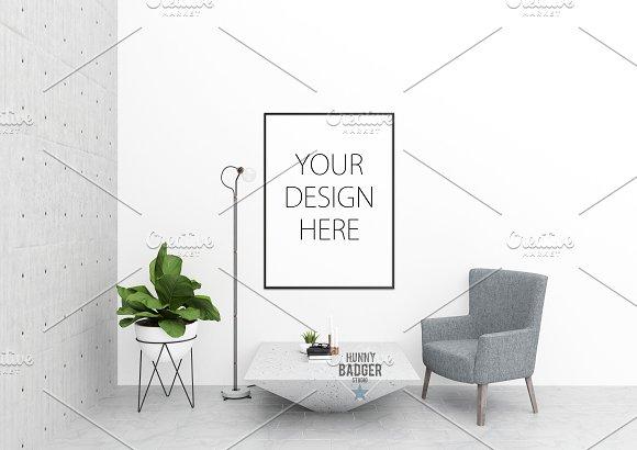 Interior Mockup -poster Mockup