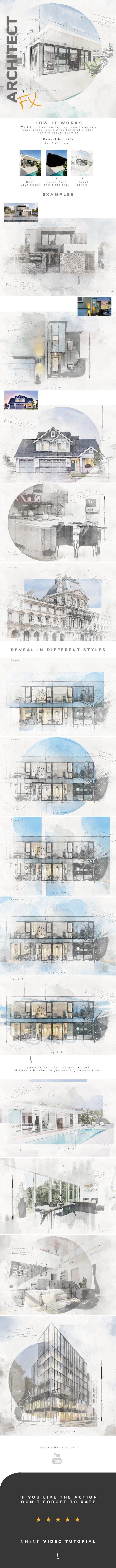 Architecture Photoshop Action