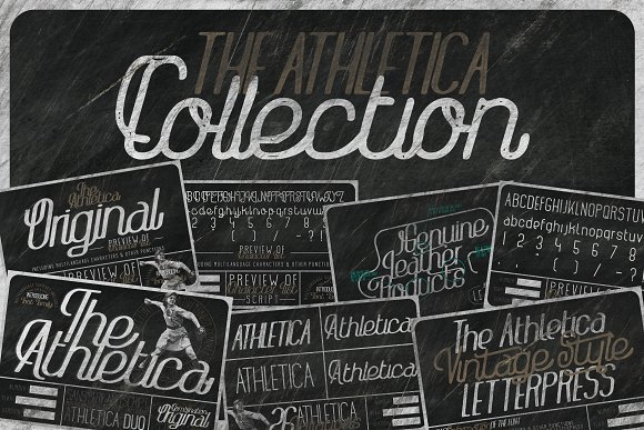 The Athletica Font