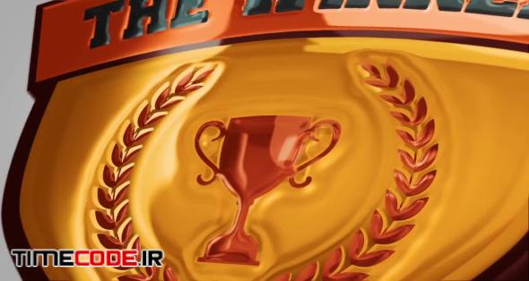 3D Shield Logo