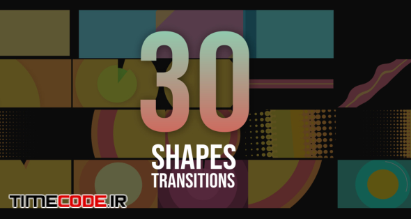30 Shapes Transitions Pack