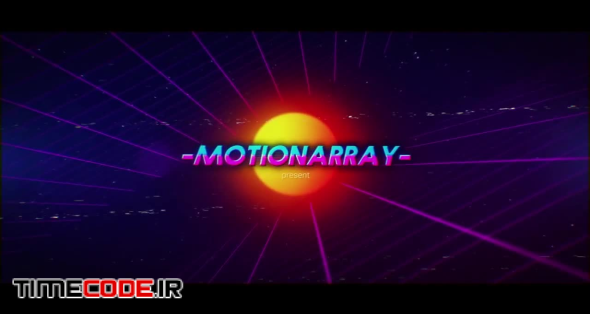 Synthwave 80s Intro