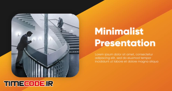 Clean Corporate - Minimalist Presentation