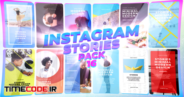 Instagram Stories Pack 16