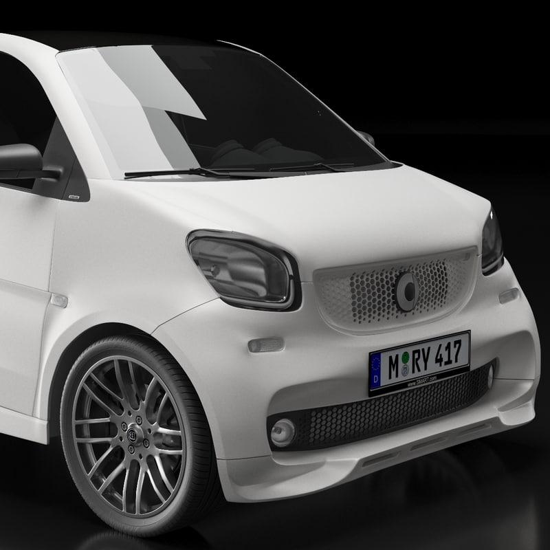 Smart Fortwo Brabus 3D