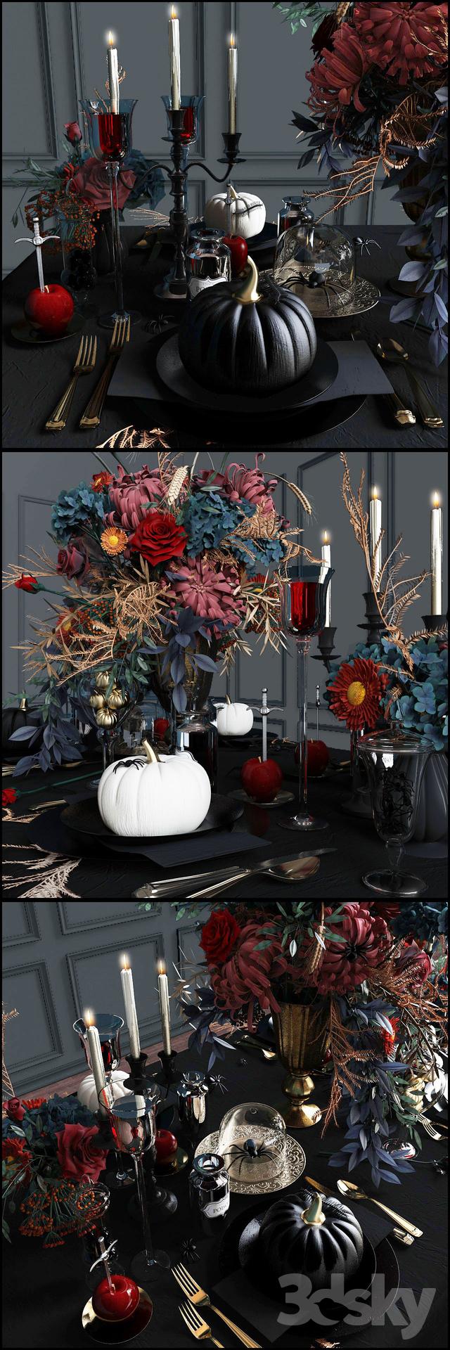"""Tableware """"Halloween"""""""