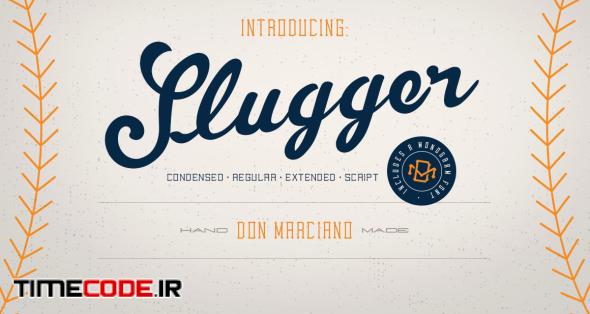 Slugger - Vintage Family Font