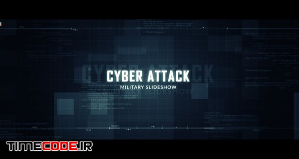 Cyber Attack Military Slideshow
