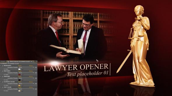 Lawyer opener