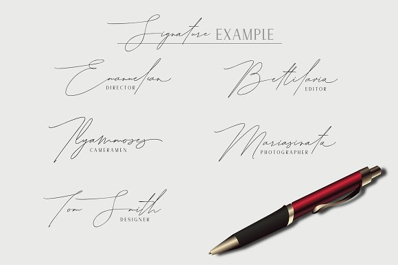 Handwritting Font Bundle