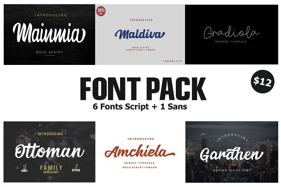 Font Pack Edition 1