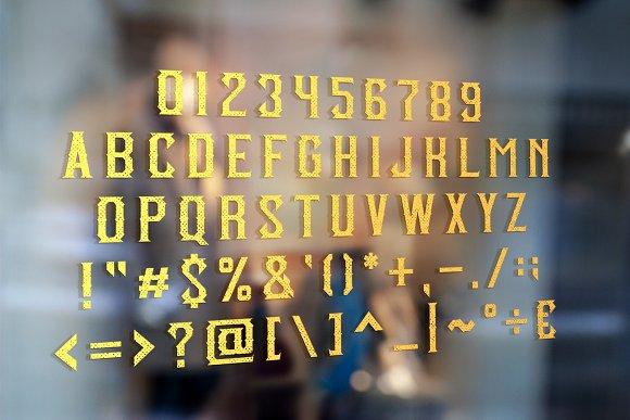 Classic BarberShop Font