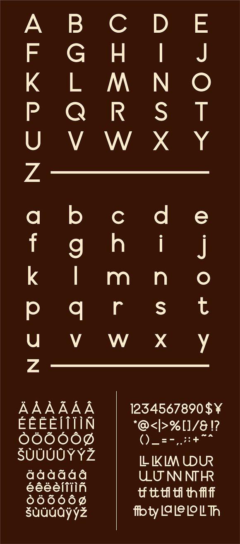 Calmer Font Family