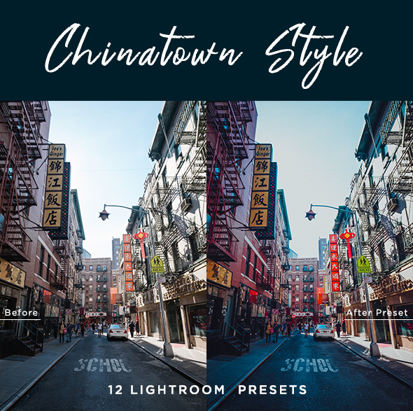 Chinatown Style Lightroom Presets