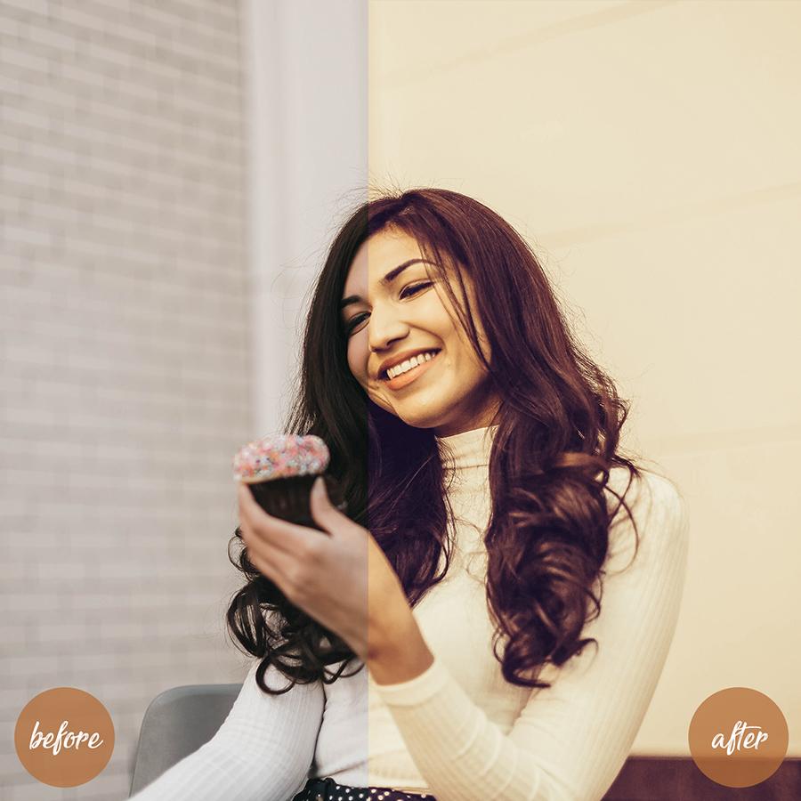 4 Mobile And Desktop Lightroom Presets Cappuccino