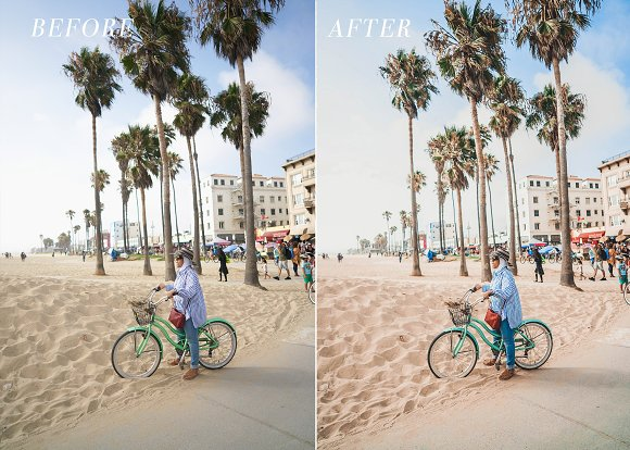 Mobile Lightroom Preset For Bloggers