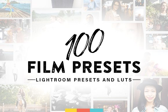 100 Film Lightroom Presets And LUTs