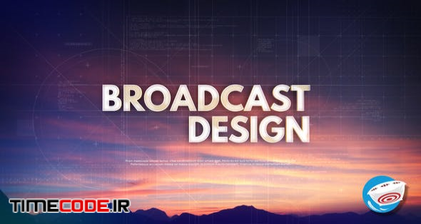 Technology Typography - Broadcast Intro