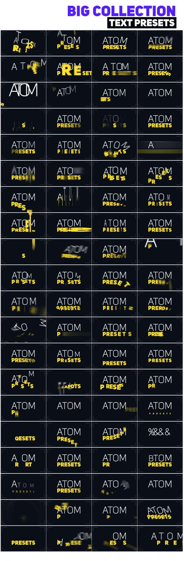Big Pack of Typography | Atom