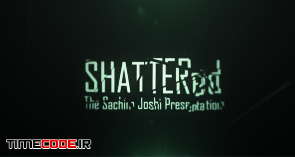 Shattered Cine Titles