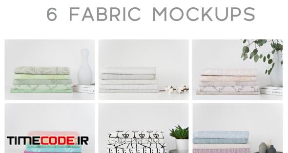 Fabric Mockup Bundle #1