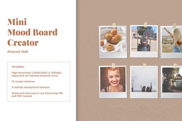 Mini Mood Board: Polaroid Wall