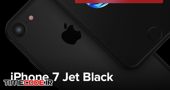 340 IPhone 7 Jet Black Mockups