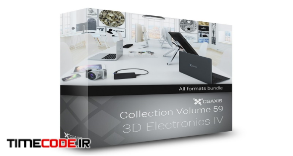 3D Electronics IV – CGAxis Models Volume 59