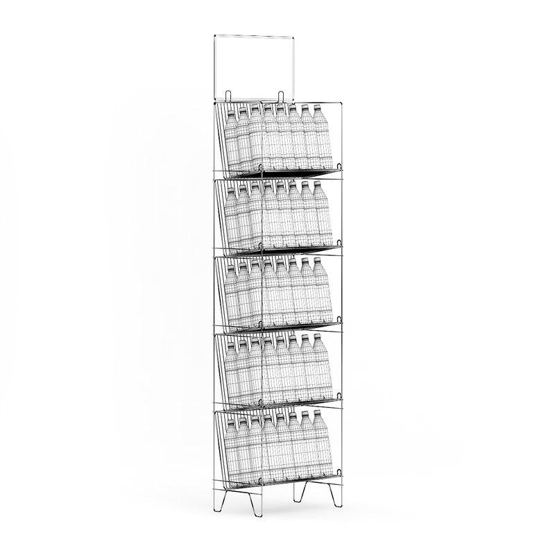 CGAxis Models Volume 64 Supermarket III