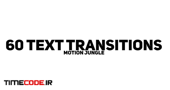 60 Text Transitions