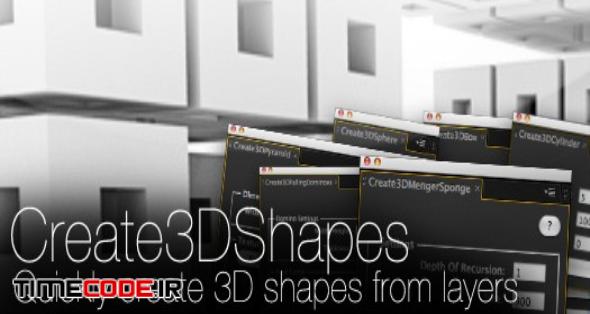 Create3DShapes