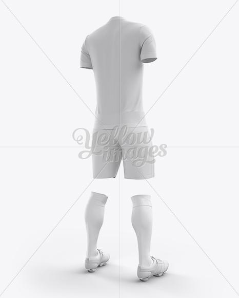 Men's Full Soccer Kit with V