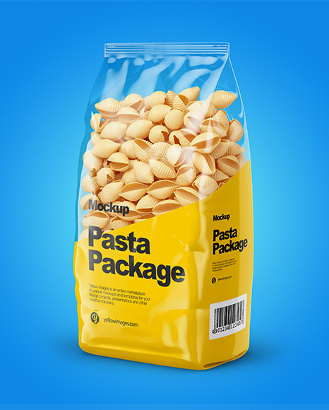 Conchiglie Pasta Mockup