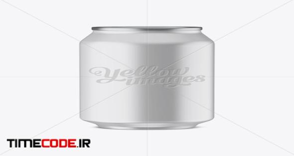 330ml Aluminium Can With Matte Finish Mockup (Eye