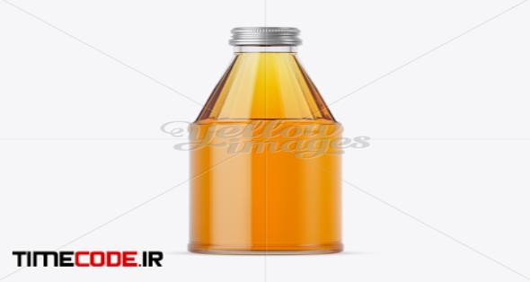 330ml Apple Juice Bottle Mockup in Bottle Mockups on Yellow Images Object Mockups