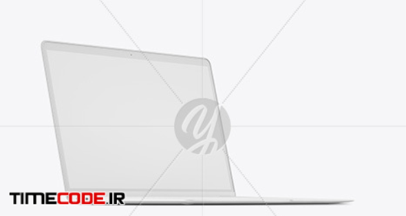 Clay Macbook Air Mockup in Device Mockups on Yellow Images Object Mockups
