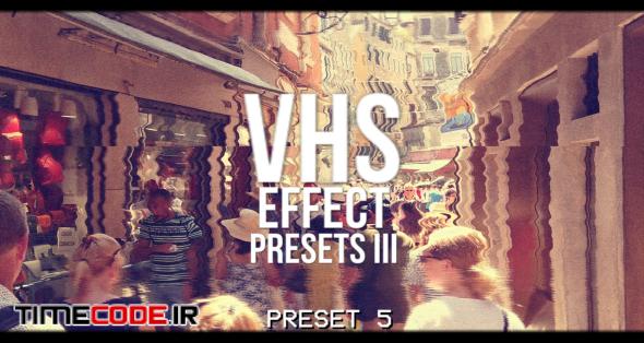 VHS Presets Effect V.3