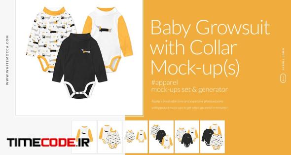 Growsuit With Collar Mock-ups Set