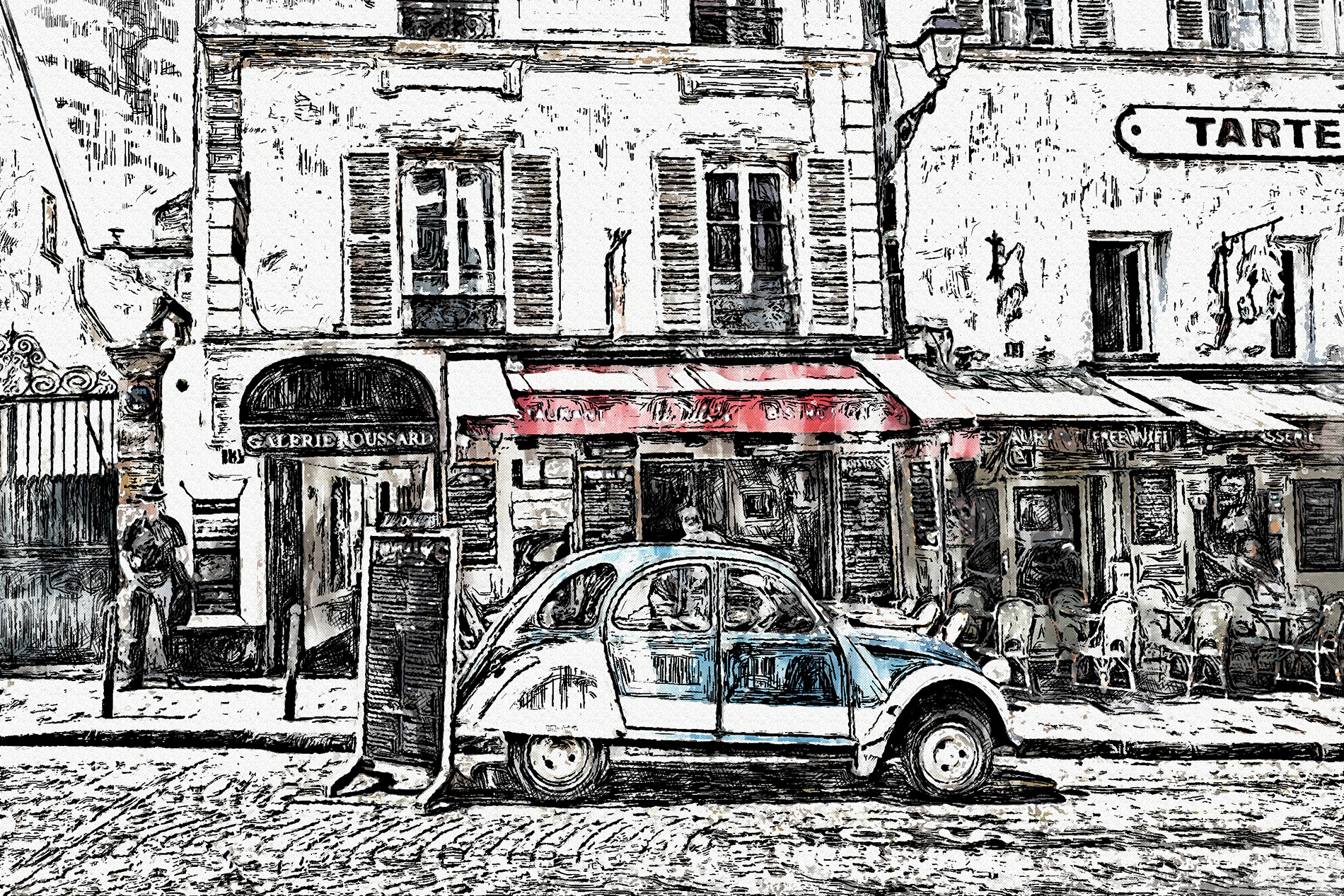 InkSketch - Photoshop Action