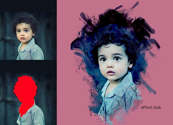 Photoshop Poster Effect