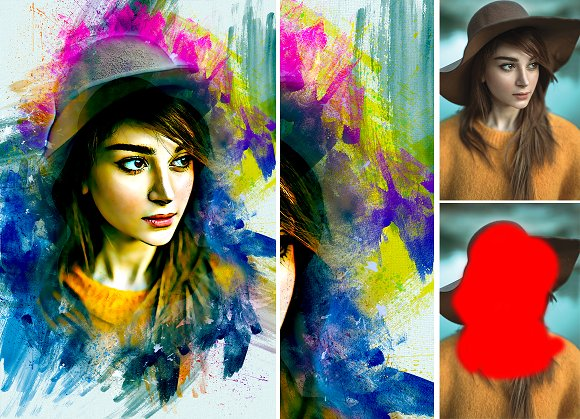 Paint Photoshop Action