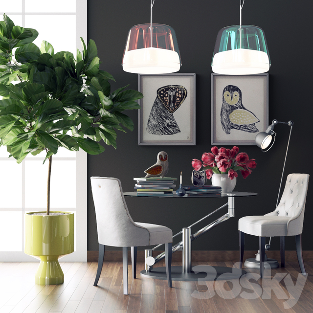 Decorative Set, Dining Group