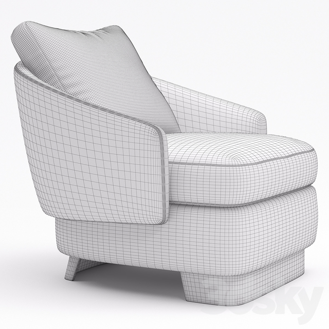 Minotti Lawson Medium Armchair