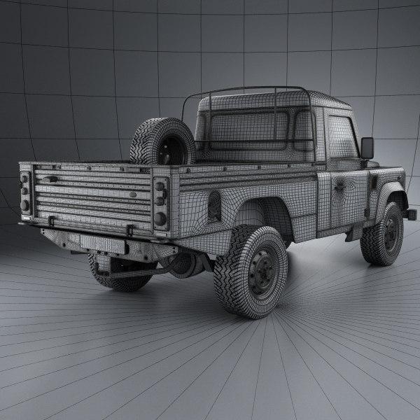 Land-Rover Defender 110 High Capacity PickUp 2011