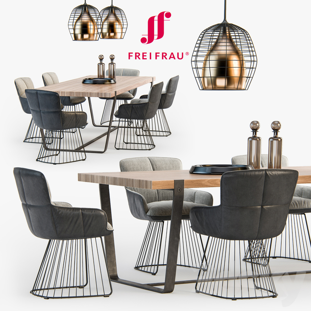Freifrau Dining Set_01