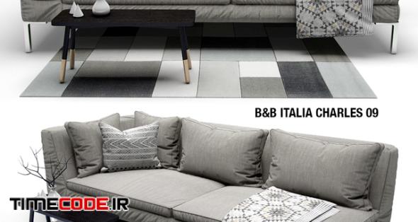 Sofa B amp; B ITALIA CHARLES