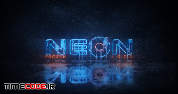 Frozen Neon Logo