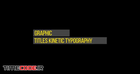 Titles Kinetic Typography