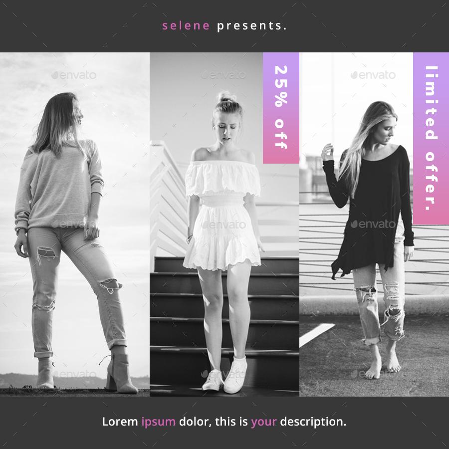 Luna Zero - Modern Instagram Banners